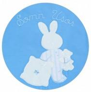 Sac de dormit copii 3 ani- 4,5 ani BEBEDECO de iarna cu dubla deschidere SOMN USOR bleu-cod SB01120