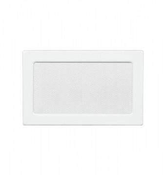 Grila de ventilatie metalica-alb/220 x 300