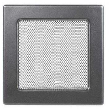 Grila de ventilatie metalica-negru-grafit/170 x 170
