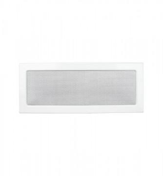 Grila de ventilatie metalica-alb/220 x 450