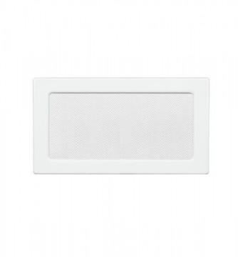 Grila de ventilatie metalica-alb/170 x 370