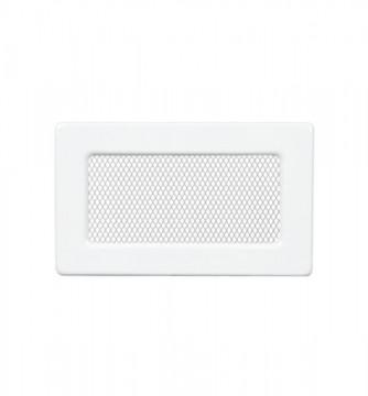 Grila de ventilatie metalica-alb/170 x 110