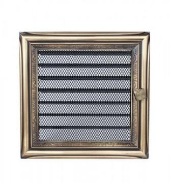 Grila de ventilatie metalica cu inchidere-Regency Rustic /170 x 170