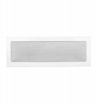 Grila de ventilatie metalica-alb/490 x 170
