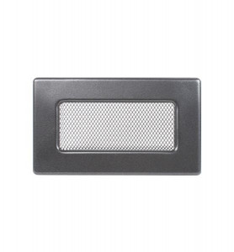 Grila de ventilatie metalica-negru-grafit/170 x 110