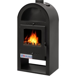 Poze Soba semineu Celsius Eco Mini 5,5 KW