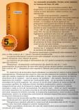 Rezervor acumulare PUFFER CELSIUS cu o serpentina 750 LITRI