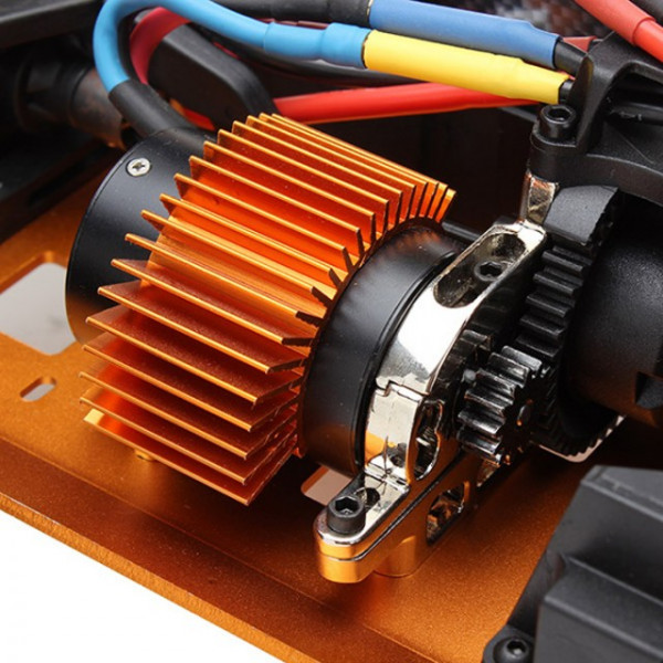Automodel electric Buggy  SST Supporter brushless 4x4 RTR, scara 1/9