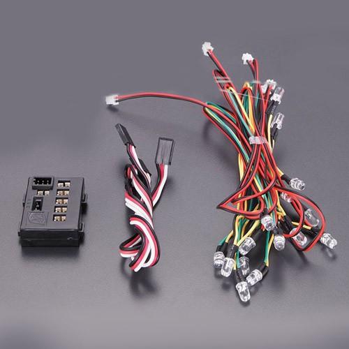 Sistem de lumini cu 18 LED-uri si diverse functii