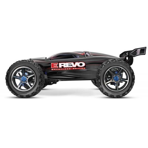 Automodel Traxxas E-Revo Brushless 4x4 cu sisteme TSM/TQi /BlueTooth