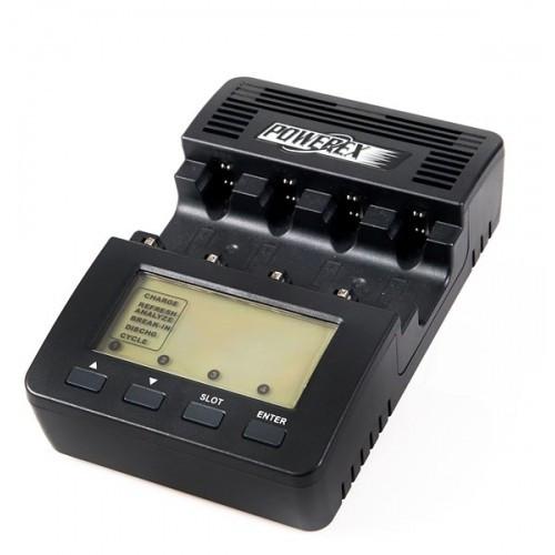 Maha MH-C9000 Wizard 1- Incarcator / Analizor profesional cu incarcare pe 4 canale pentru acumulatori tip AA / AAA