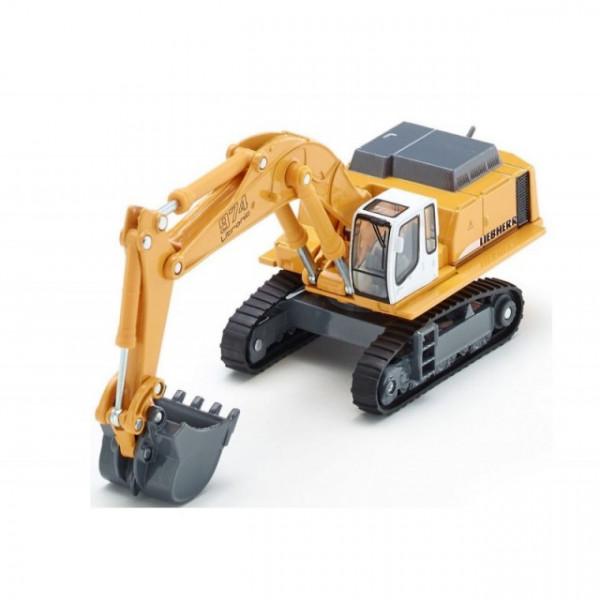 Macheta excavator hidraulic Liebherr 974 diecast, SIKU, scara 1/87