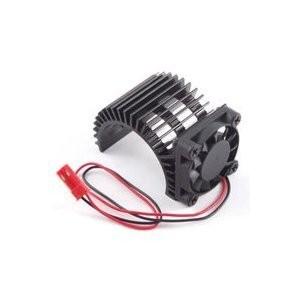Radiator aluminiu cu ventilator lateral pentru motoare electrice