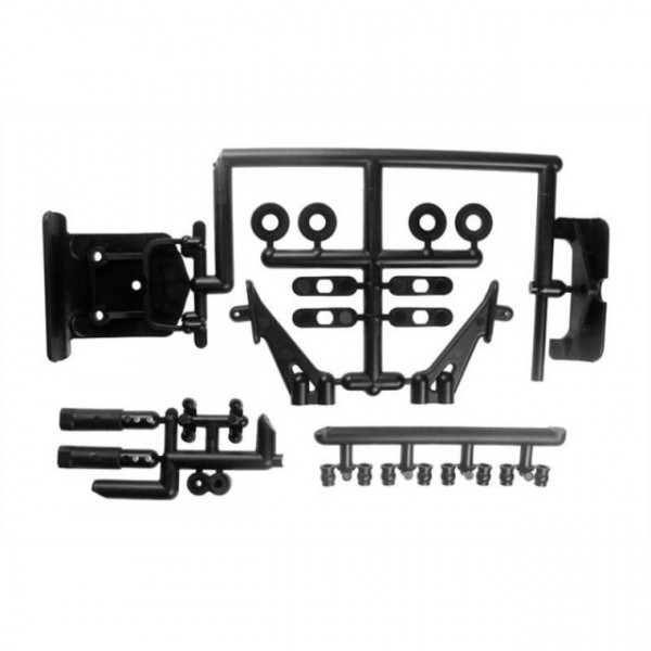Set bumper + wing stay pentru Lazer ZX-5