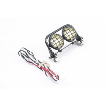 Set 2 lumini cu roll bar pentru automodele crawler si scale