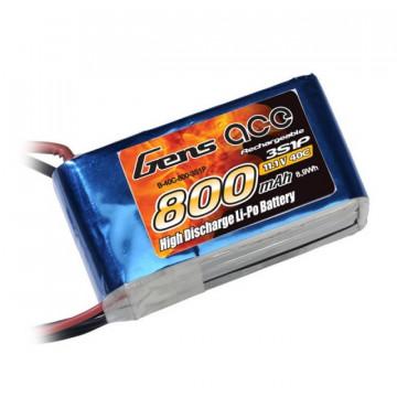 Acumulator LiPo GENS ACE 800 mAh 11.1V Softcase