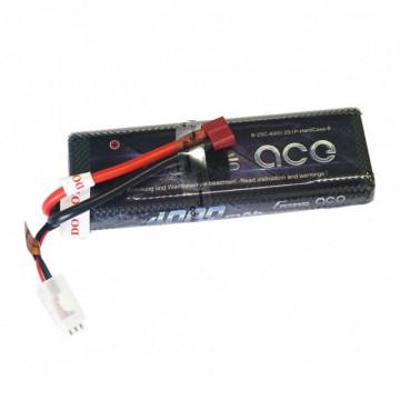 Acumulator LiPo  Automodele Gens ace 4000mAh 7.4V 25C 2S1P Hard Case
