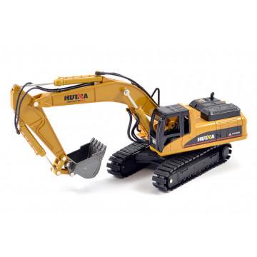 Macheta Excavator diecast Huina scara 1/50