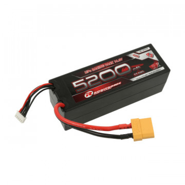 Acumulator Lipo 4s 5200 mAh 40C Robitronic, conector Deans