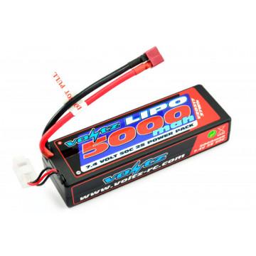 Acumulator LiPo Voltz 5000mAh 7.4 V 50C Hard case