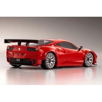 Automodel Kyosho Mini-Z Ferrari 458 GT2 MR-03W-MM BCS, culoare rosie
