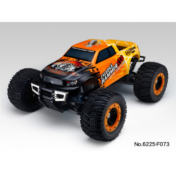 Automodel Thunder Tiger MT4 Sledge Hammer S50 Monster Truck Termic 1/8 RTR, culoare portocalie