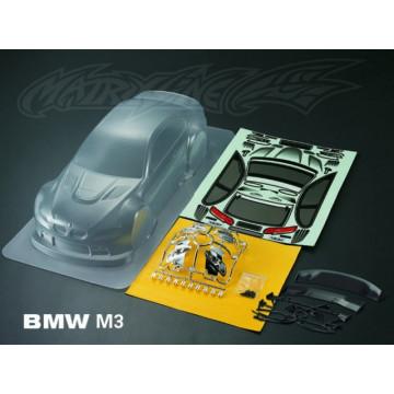 Caroserie Matrixline BMW M3 Clear body cu accesorii