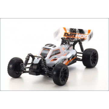 Kyosho Dirt Hog EP 4WD 1/10 RTR, culoare portocalie