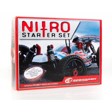 Nitro Starter Kit- Starter set pentru automodele nitro, Robitronic