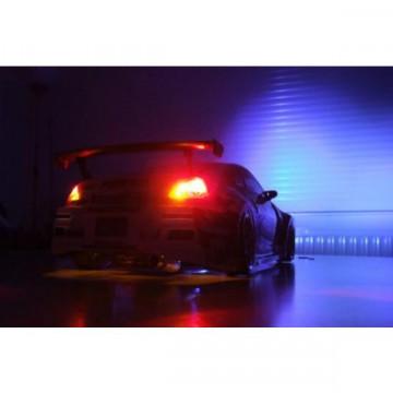 Sistem de lumini cu 8 LED-uri si diverse functii
