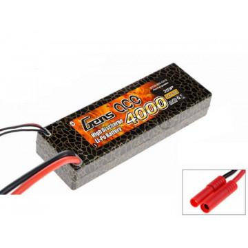 Acumulator Gens ace 4000mAh 7.4V 30C 2S1P Lipo Hard Case