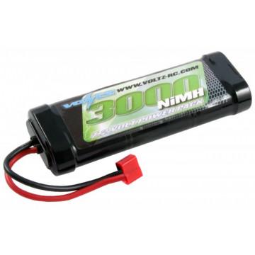 Acumulator NiMh 3000 mAh 7.2 Volt Stick Pack (Conector Deans )