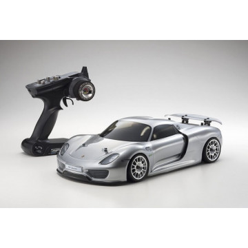Automodel electric Rally 1/10 KYOSHO EP FAZER VE Porche 918 Spyder