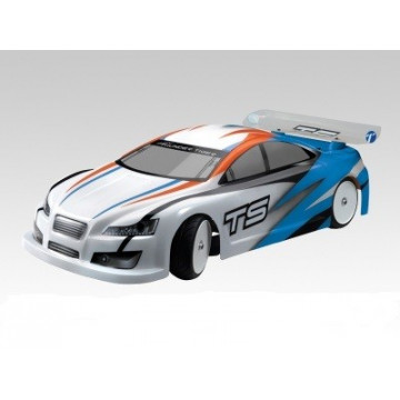 Automodel electric Thunder Tiger TS2e EP Touring Brushed ARTR 2WD, scara 1/10, culoare albastra