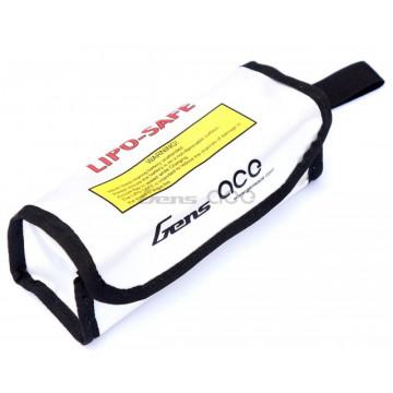 Sac protectie ignifug pentru incarcare acumulatori LiPo, 17x6x6cm