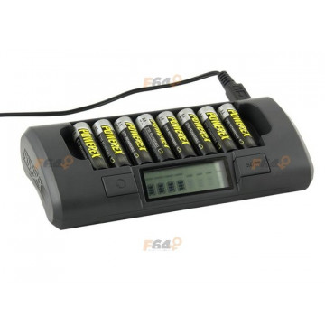 Incarcator profesional Maha Powerex MH-C800S pentru 8 acumulatori R6AA/R3AAA