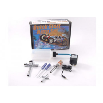 Nitro Starter Box- Starter set pentru automodele nitro- priza Anglia