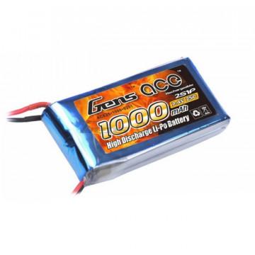 Acumulator Gens ace 1000mAh 7.4V 25C 2S1P Lipo