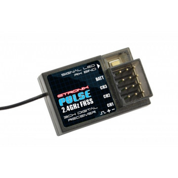 Radiocomanda cu 3 canale pentru masini cu telecomanda si navomodele ET1106