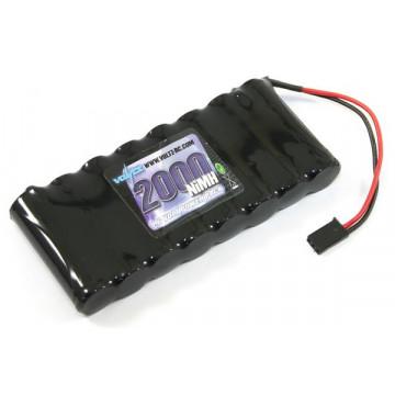 Acumulator NiMh 2000 mAh 9.6v 2000 mAh, cu conector futaba