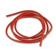 Cablu electric cu invelis siliconic pur 16 AWG, 1m , Rosu