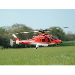 Elicopter Thunder Tiger Agusta A109K2, culoare rosie - 6 canale RTF