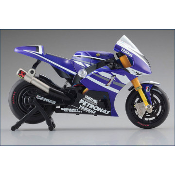 Motocicleta cu radiocomanda Kyosho Mini-Z YAMAHA YZR-M1 2011 - RTR, cu giroscop