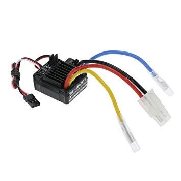 Regulatorul de turatie waterproof WP-1060 Brushed compatibil LiPo 2-3S / Nimh