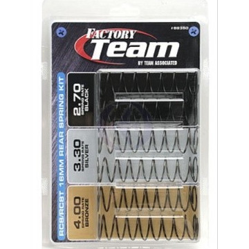Set arcuri amortizoare din aluminiu 16x38mm pentru automodele scara 1/10