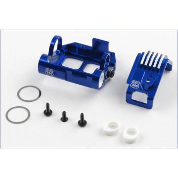 Set suport motor aluminiu cu radiator pentru Mini-Z MR-015/02/03 MM