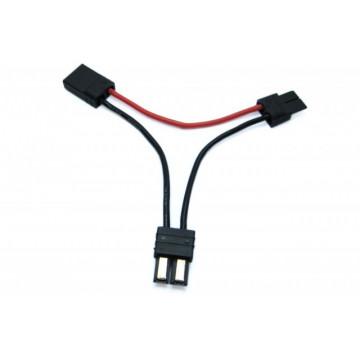 Cablu cu conectori Traxxas pentru montare acumulatori in serie