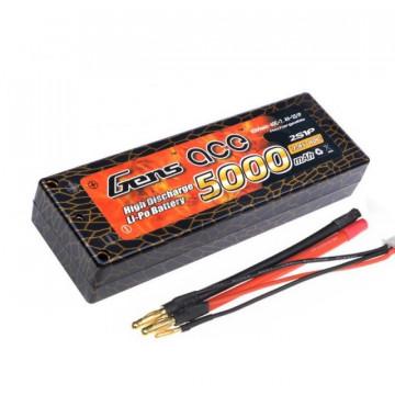 Acumulator Gens ace 5000mAh 7.4V 40C 2S1P Hard case Lipo