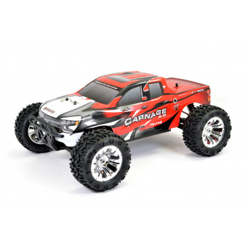 Automodel electric FTX CARNAGE 2.0 Monster-Truck 4x4 RTR 2.4Ghz, rosu