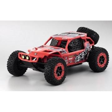 Automodel Kyosho 1/10 2WD EZ AXXE Buggy RTR, culoare rosie
